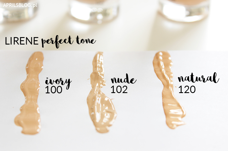 perfect tone ivory, nude, natural, swatche