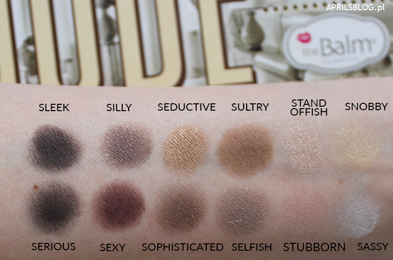 nude tude the balm swatch