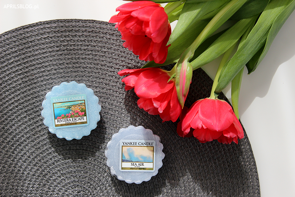yankee candle sea air, yankee candle riviera escape