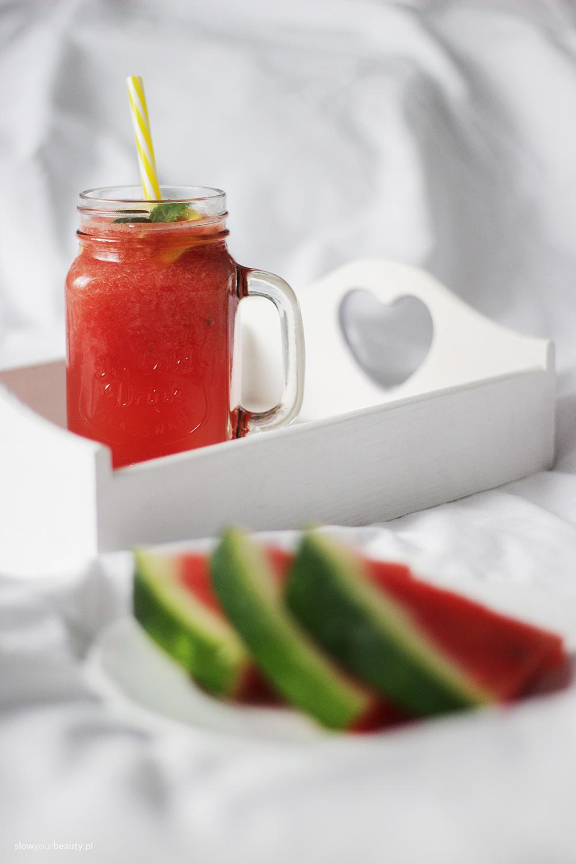lemoniada bez cukru arbuz