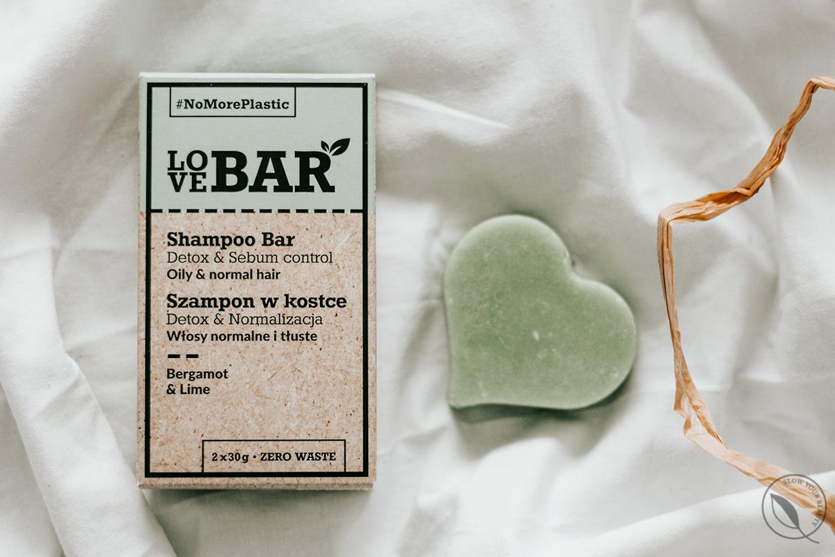 szampon w kostce rossmann love bar zielony